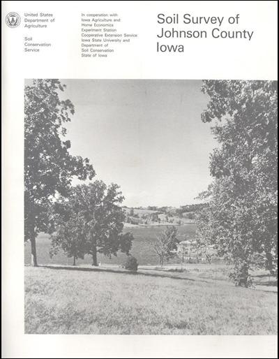 Johnson county iowa soil survey digital version for Soil web survey
