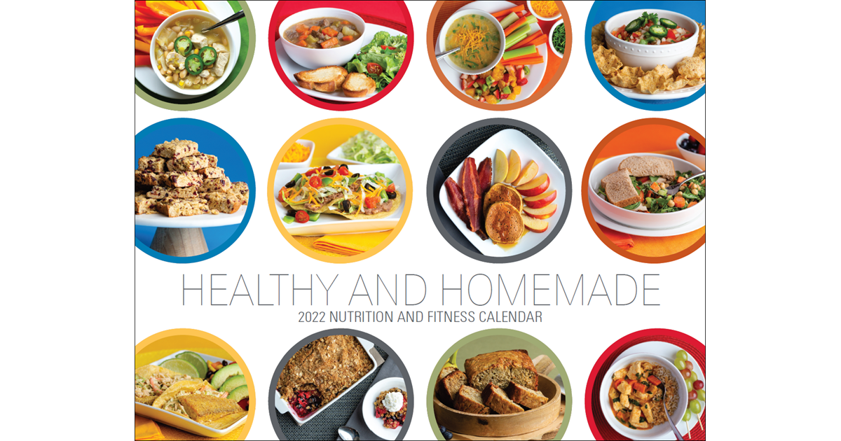 Healthy Amp Homemade 2020 Nutrition And Fitness Calendar