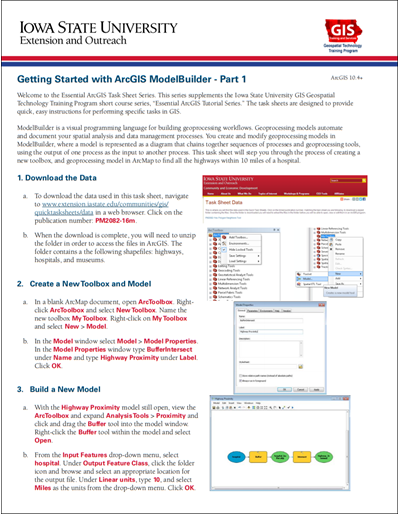 Getting Started with ArcGIS Model Builder - Part 1